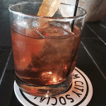 Negroni cocktail at Elm City Social