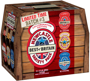 Newcastle Releases Caley Amber Ale in Variety Pack