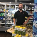 Ben Wygant, Sales Representative, Newport Storm at Wakefield Liquors in Wakefield on June 23.