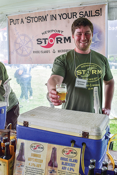 Mike Shervin of Newport Storm Brewery.