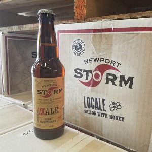 Newport Storm re-releases LocAle, a Saison ale made with local honey.