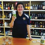 Theresa Malafonte, Public Relations and Events Coordinator, Newport Storm Brewery at Bellevue Wine & Spirits in Newport on June 23.