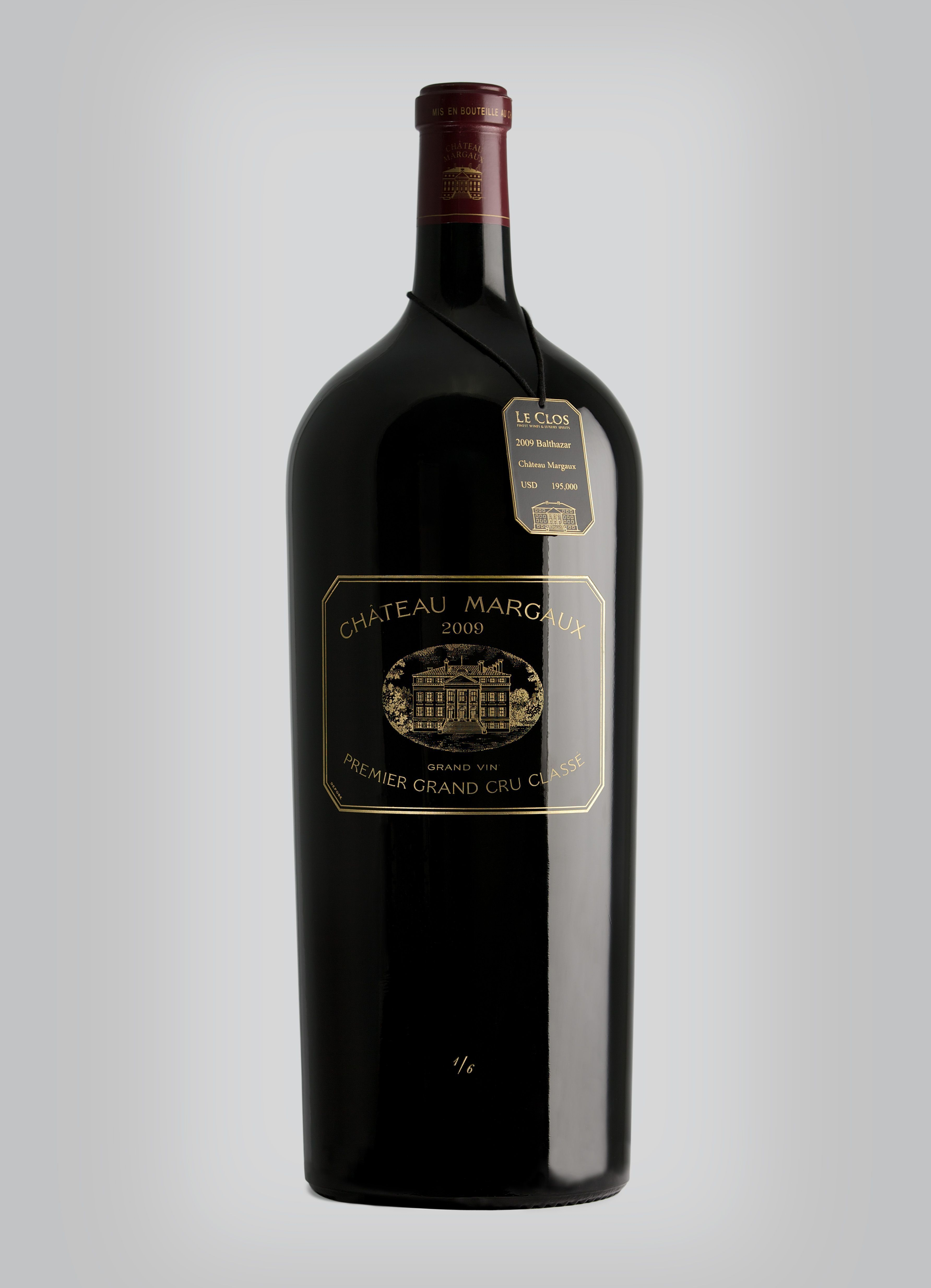 Le Clos Retails Most Expensive Bottle of Red Wine