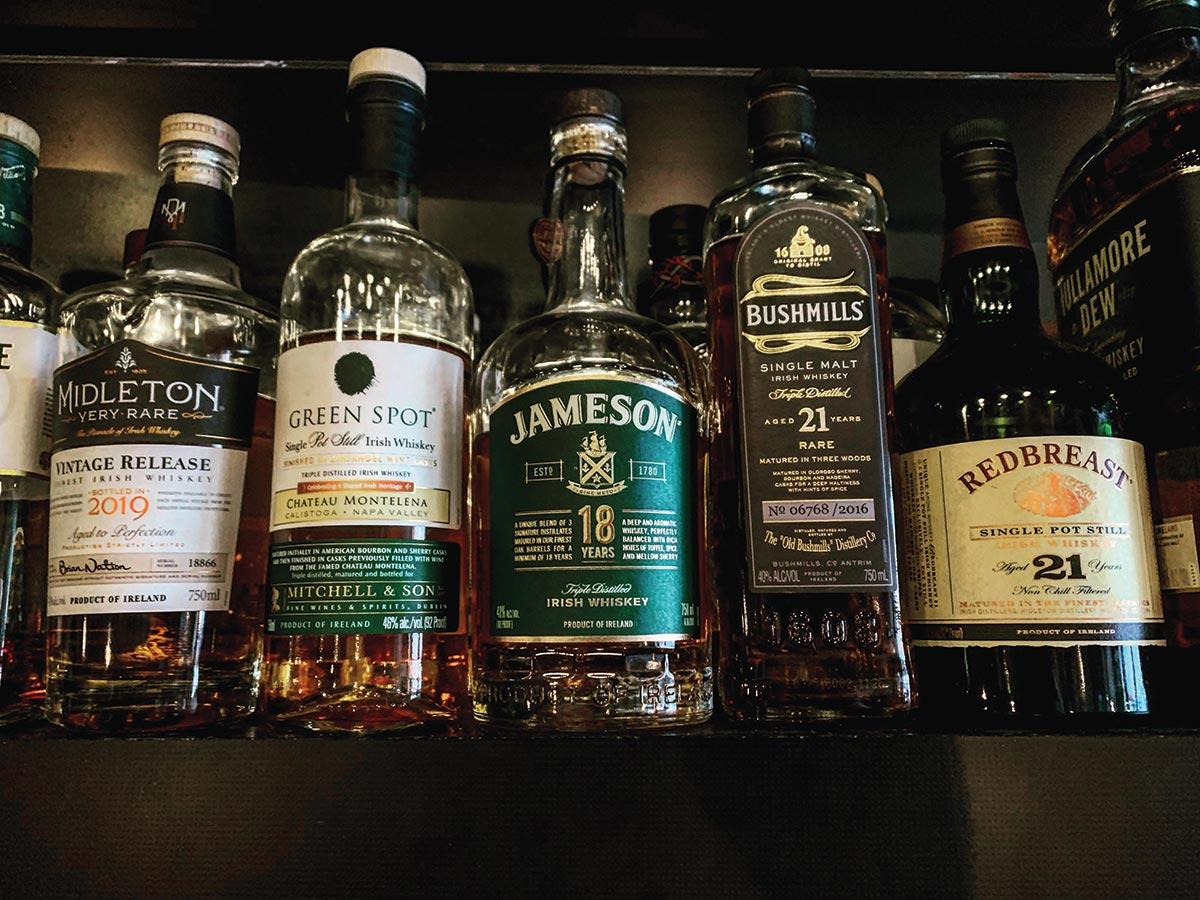 Oak Haven Hosts St. Patrick's Day Rare Irish Whiskey Dinner
