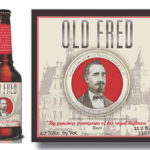 "Old Fred is in ""loving memory of Mr. Frederick Miller,"" founder of Miller Brewing Company in Germany. The Old World style beer features ""New World"" flavor using American Cascade Hops. ABV 5.5%."