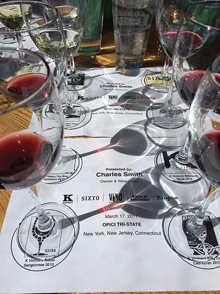 Charles Smith Hosts Wine Session for Opici Family Distributing