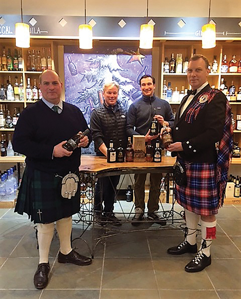 Opici Showcases Scotch in New Haven on Robert Burns Day