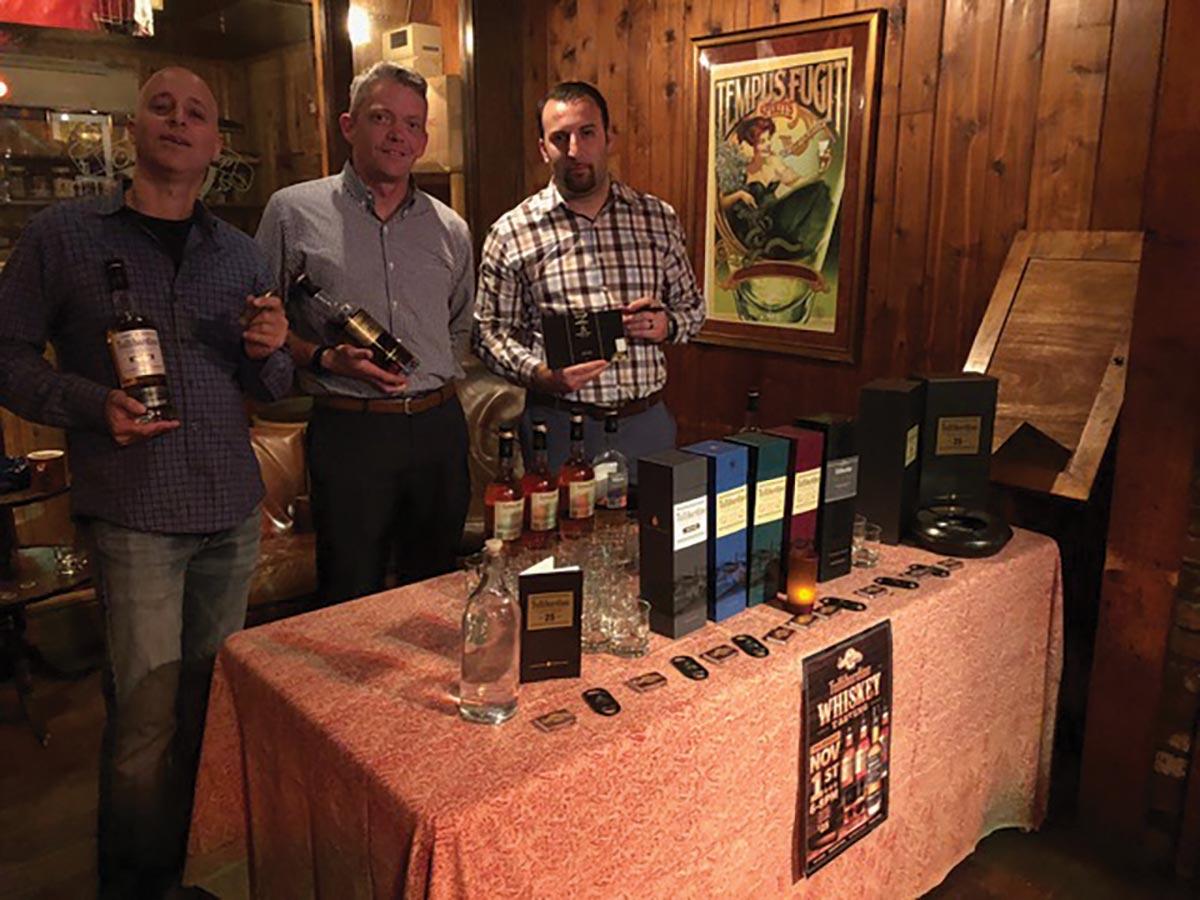 Tullibardine Whiskey Featured at Owl Shop