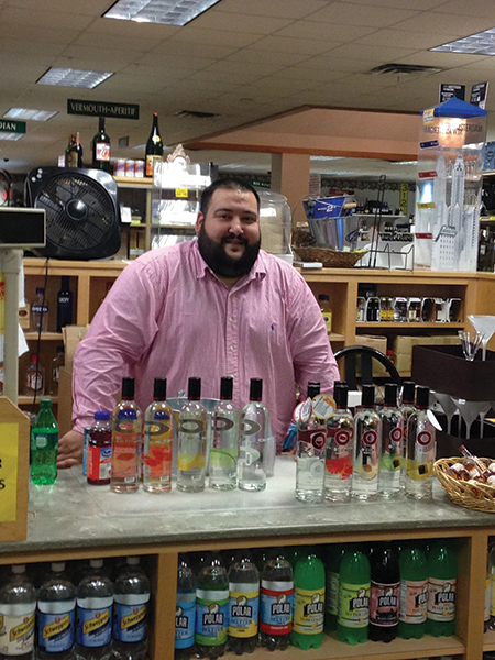 Ozone Vodka Featured During In-Store Promotions