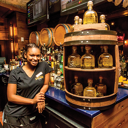 Patrón Barrel Select Program at The Shipyard Pub. Photo by Chris Almeida.