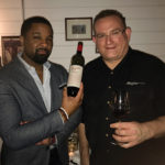 DLynn Proctor, Master Sommelier and Wine Ambassador for Penfolds with William Miller of Harry's Wine and Liquor in Fairfield.