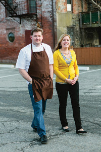 Champe and Lisa Speidel, Owners, Persimmon.
