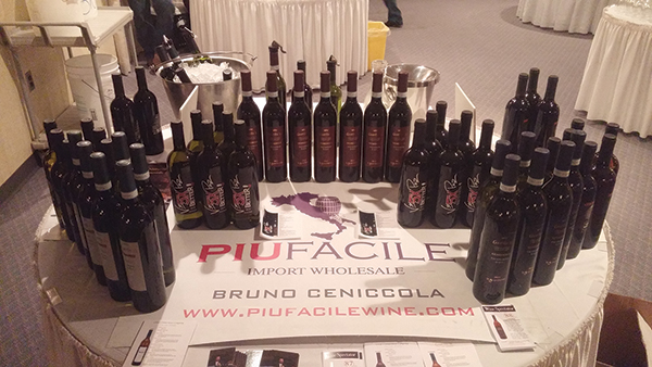 The Piu Facile wine portfolio.