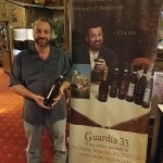 Ralph Carrano, Beverage Manager, Chowder Pot in Branford featuring Guardia 33 Italian Wines.