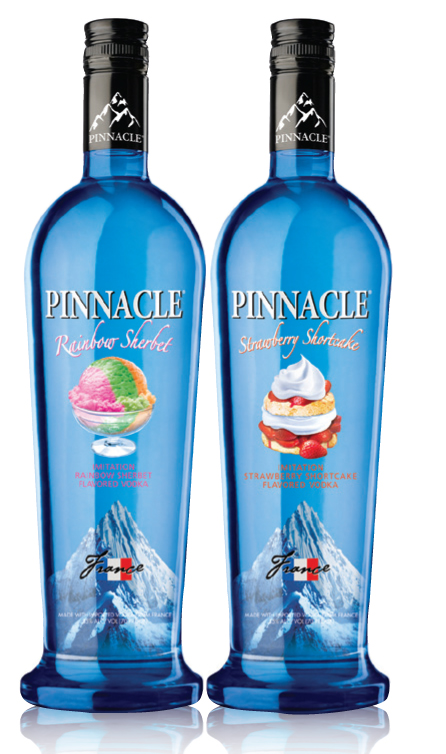 PINNACLE VODKA PRESENTS NEW SWEET FLAVOR ADDITIONS