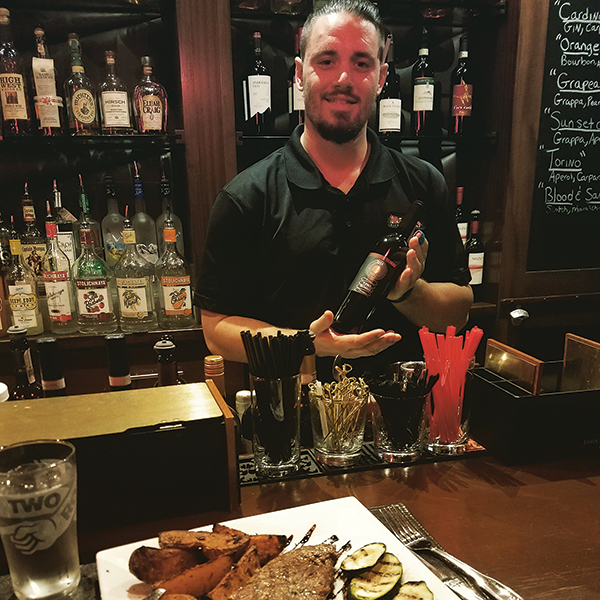 Vito Fornarelli, Owner, Fornarelli's Restaurant.