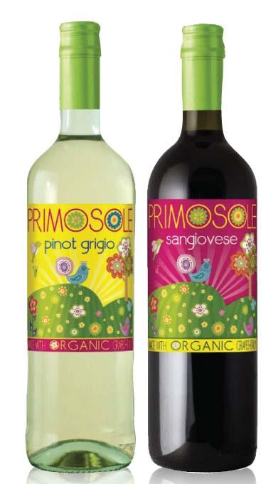 PRIMOSOLE OFFERS ORGANIC ITALIAN WINES