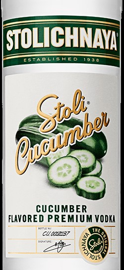 Stoli Debuts Cucumber Flavored Vodka