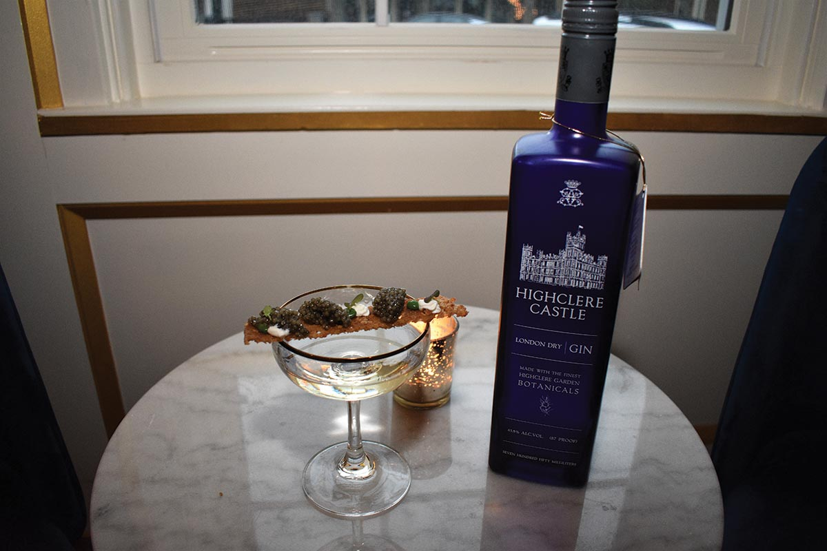 Highclere Castle Gin Debuts Luxury Cocktail to Raise Funds