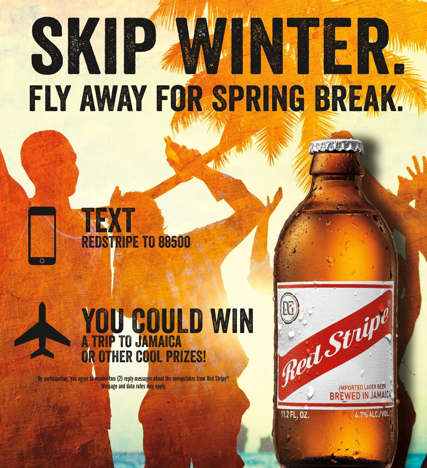 """Red Stripe Rolls Out Campaign to """"Skip Winter"""" with POS Program"""