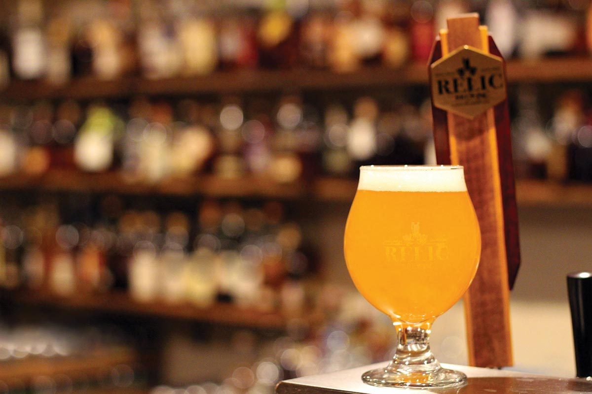 Relic Brewing Innovates its Offerings
