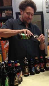 Steve Wynn of Wine Bros. at a recent in-store tasting.