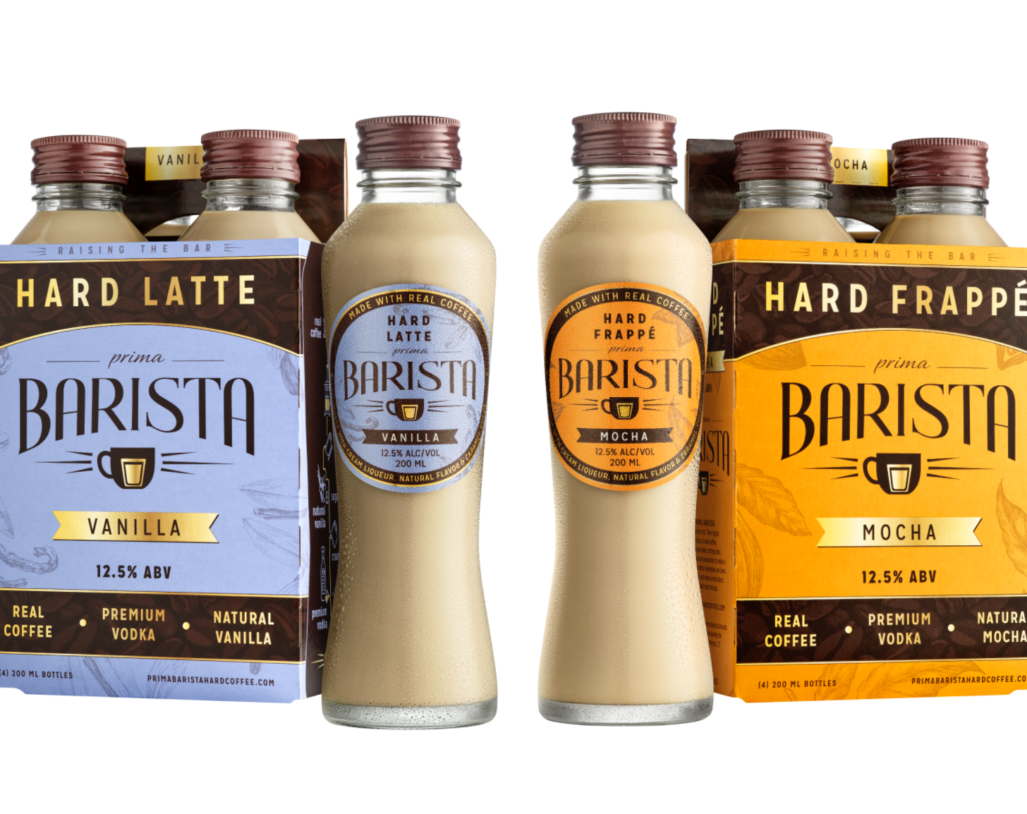 Mystic-Based Prima Barista Offers New Hard Iced Coffee