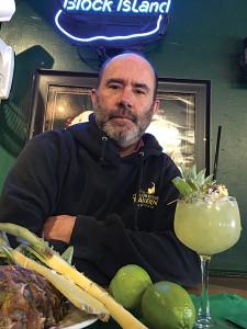 Bartender Troy Milstead