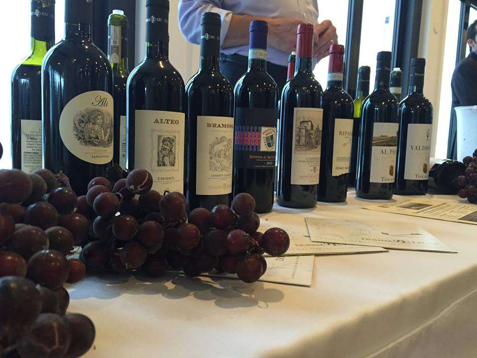 Trade Professionals Gather On Goat Island For Wine Expo