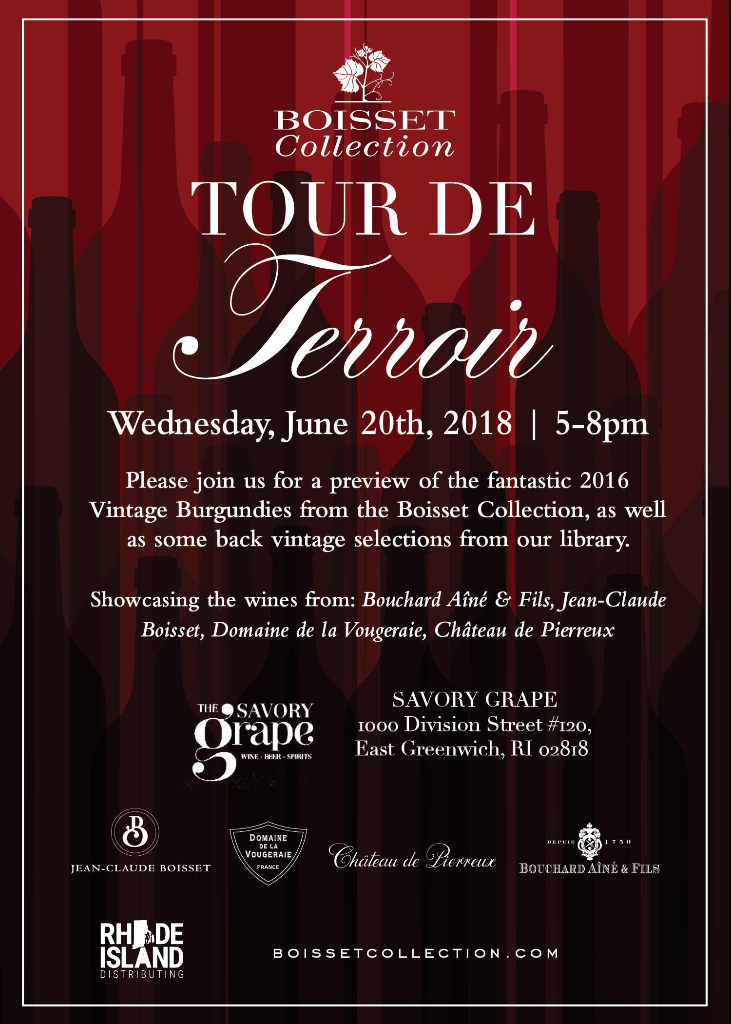 June 20, 2018: Boisset Wines Tour de Terroir