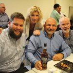 Rhode Island Distributing Company's Matt Browne, Amanda Nichols, Steve Toufanian and Bill Nutini.