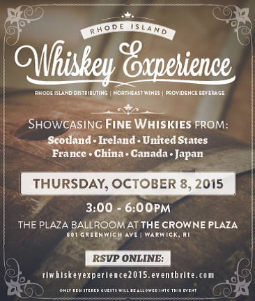 October 8, 2015: Trade Only/RIDC Whiskey Experience
