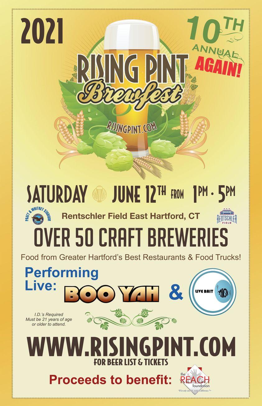 June 12, 2021: Rising Pint Brewfest