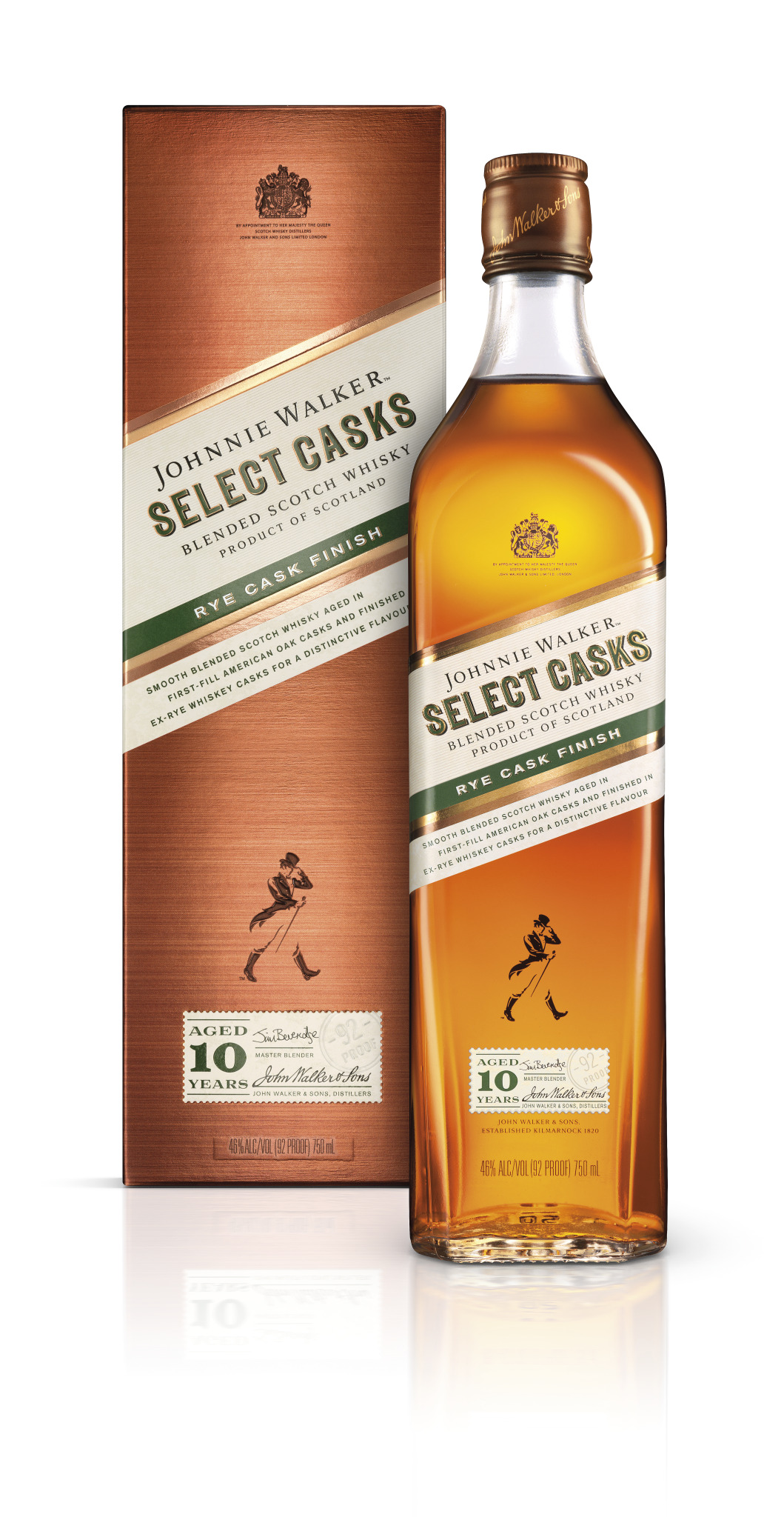 Johnnie Walker Launches Select Cask Series