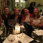 The Women of Howell Mountain wine dinner at Besos Kitchen. Heather Griffin, Summit Lake Vineyards; Jacalyn Spence, Spence Vineyards; Kara Dunn, Retro Cellars and Desiree Altemus, Red Cap Vineyards.