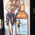 Sailor Jerry 92-proof rum is available via Brescome Barton.