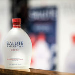 Salute American Vodka is made with corn and wheat grains, distilled four times for a smooth, clean taste and USA Certified™.