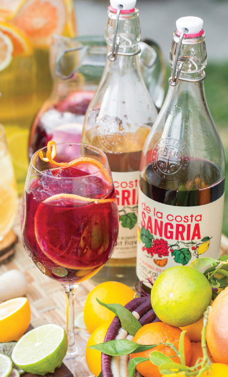 Brand Profile: Glunz Family Winery's De La Costa Sangria