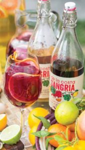 The flip-top closure and real citrus infusion are two points of distinction for California-based De La Costa Sangrias.