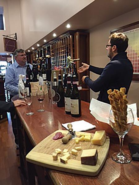 Savory Grape Hosts Italian Winemaker for In-Store Tasting