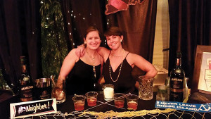 Guest Columnist Elizabeth Sawtelle and Laura Moore of the United States Bartenders Guild Rhode Island (USBG RI) chapter at Portland Cocktail Week 2014.