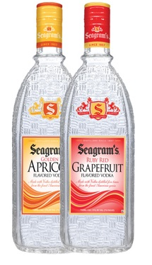 Seagram's Vodka Launches New Flavors
