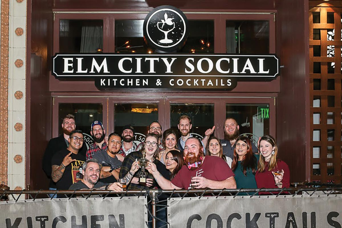 "Elm City Social Hosts ""Shave the Chef"" Bartending Competition"