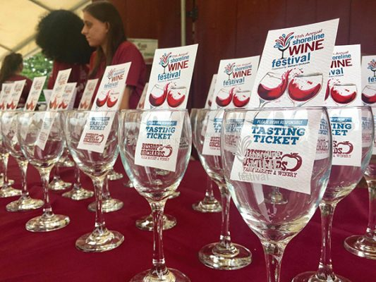 Annual Shoreline Wine Festival Features Local Brands