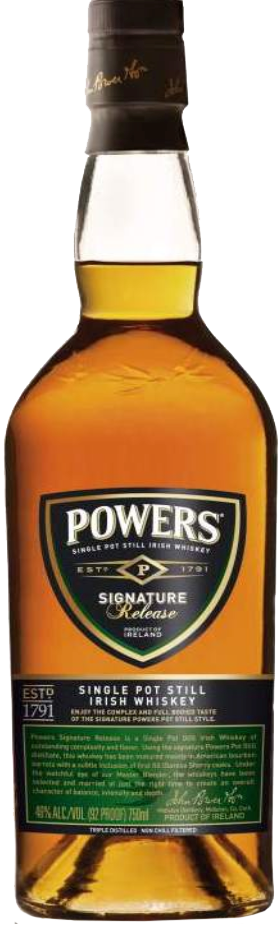 New Packaging for Powers Gold Label