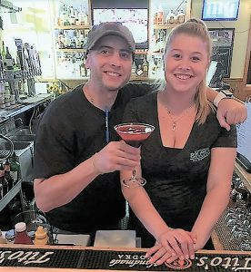 Derek Sears, Bartender and Shannon O'Brien, Bar Manager