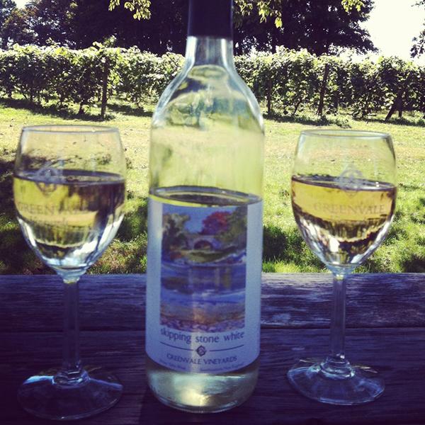 "Serving Up: Greenvale Vineyards ""Skipping Stone White"""