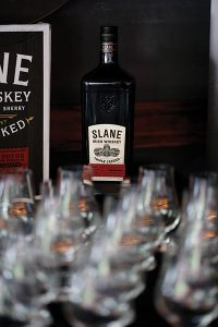 Slane Irish Whiskey is named after the Conyngham family's village, The Slane Village in Ireland's County Meath, which was designed by the family in the early 18th century. The Slane Village features period houses, shops and landscapes.