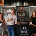 Kristen Cubicciotti, Market Manager MA/RI, Brown-Forman; Alex Conyngham, Owner, Slane Irish Whiskey; Jessica Kelly, Team Whiskey Boston, Brown-Forman Brand Champion.