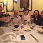 William Miller, Owner, Harry's Wine & Liquor Market, Fairfield; Dr. Martin Krauthamer, wine enthusiast; Jaculin Day Bronz, wine enthusiast; Marcia Passavant, Senior Brand Manager, Slocum & Sons; Katie Schoen, Fairfield County Sales Representative, Slocum & Sons. The dinner was paired with a 2014 Veramonte Sauvignon Blanc, 2014 Ritual Pinot Noir, 2013 Veramonte Carmenere, 2010 Neyen Espirtu de Apalta and a 2013 Primus Blend.
